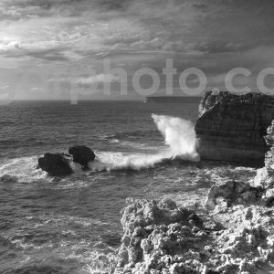 Algarve photography mono seascape images by algarphoto