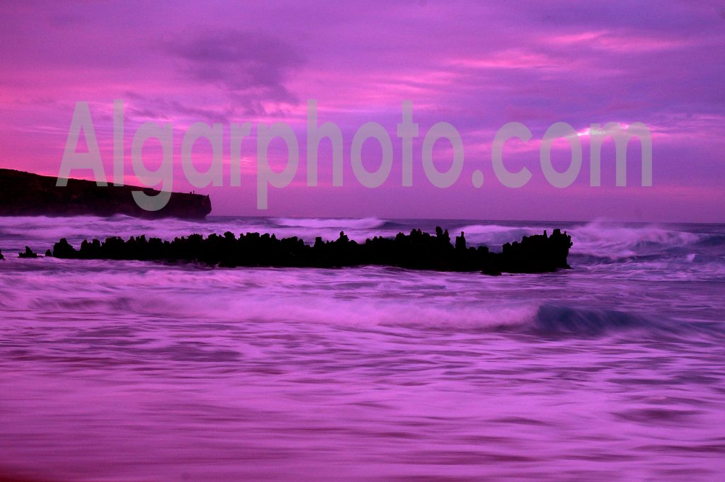 Algarve photography Sunset at Amoreira 1