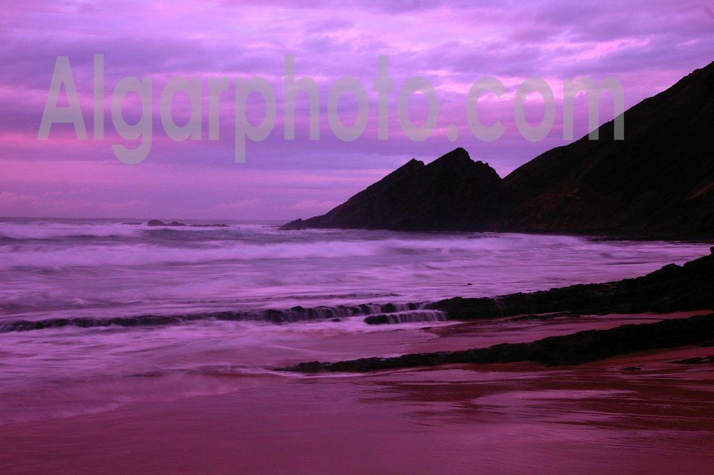 Algarve photography Sunset at Amoreira 2