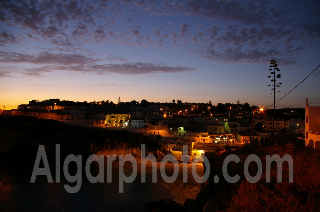Algarve photography Carvoeiro Sunset 1
