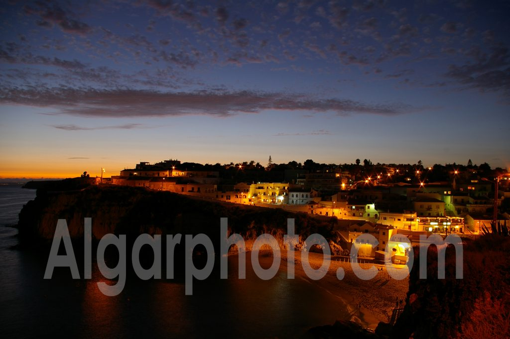 Algarve photography Carvoeiro Sunset 2