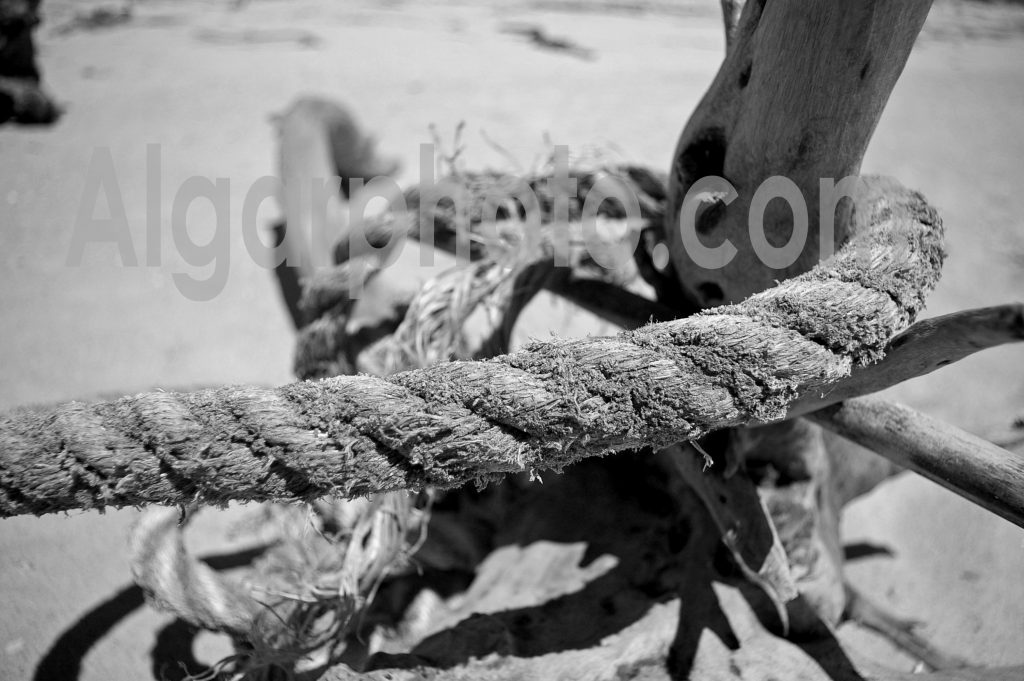 Algarve photography Rope at Anchoras