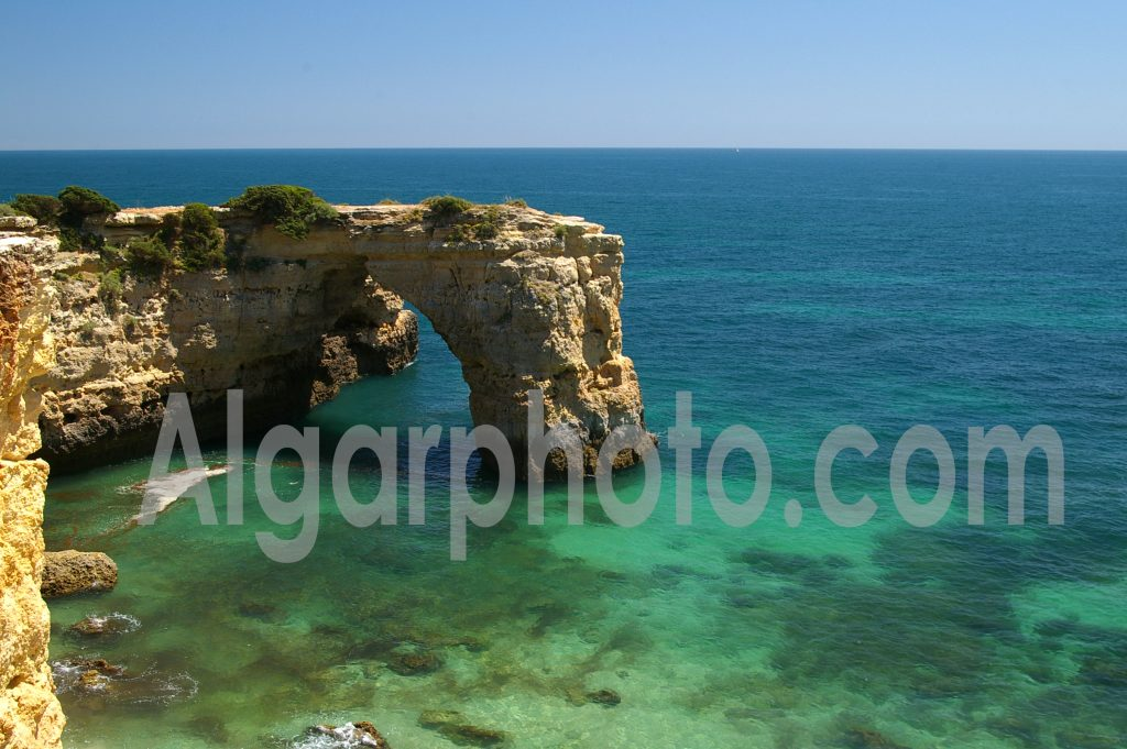 Algarve photography Albandeira Arch