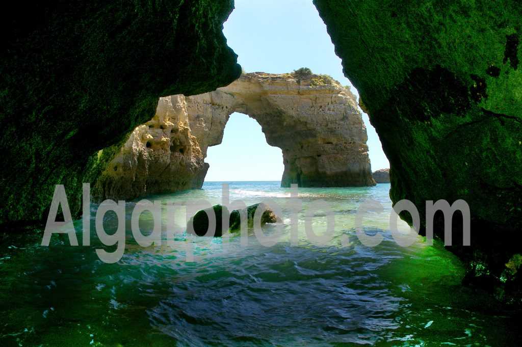Algarve photography Albadeira Caves ladscape