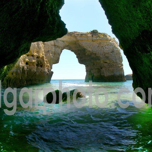 Algarve photography colour seascape image