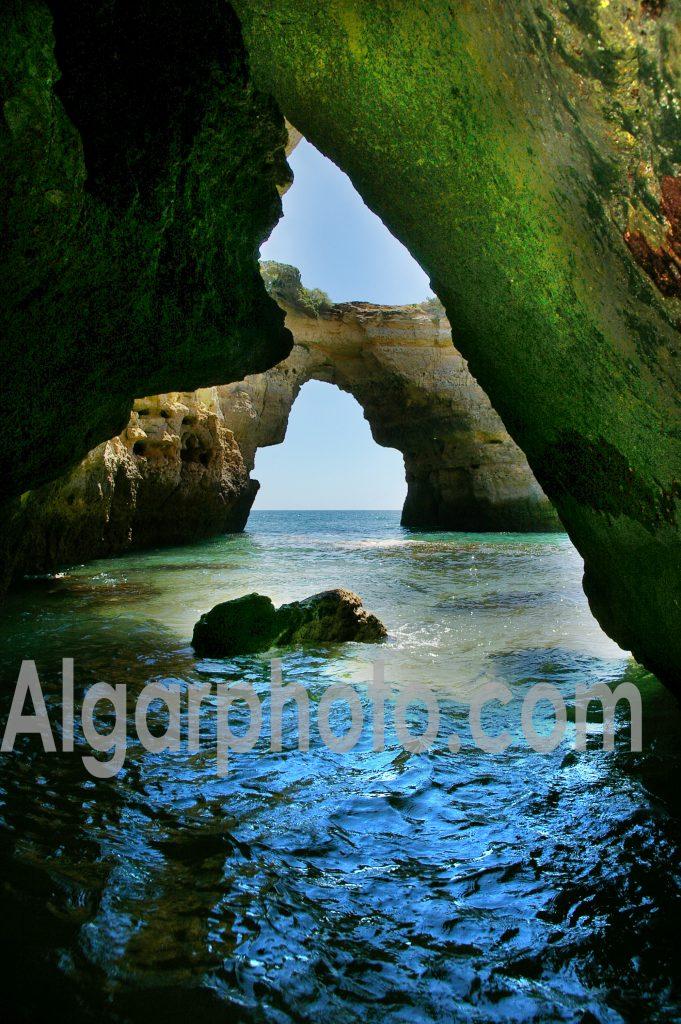 Algarve photography Albandeira caves portrait