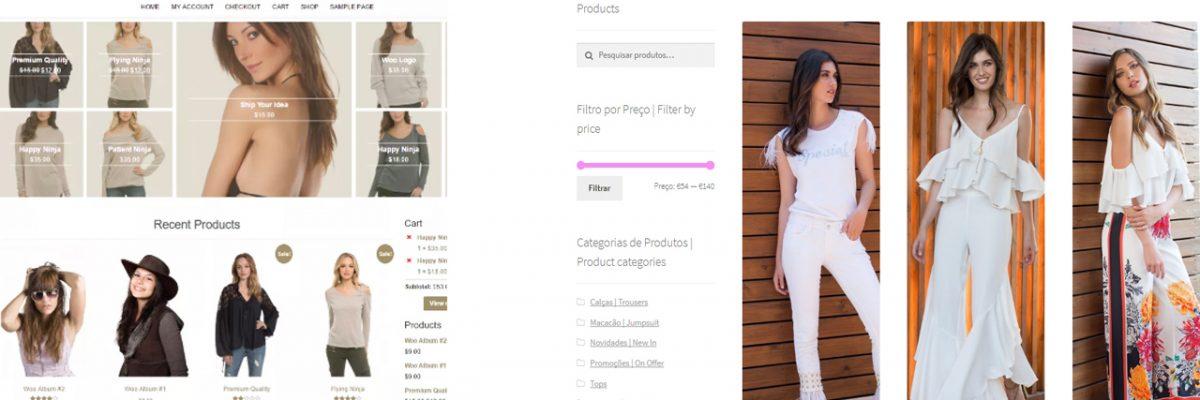 e-commerce web shop design